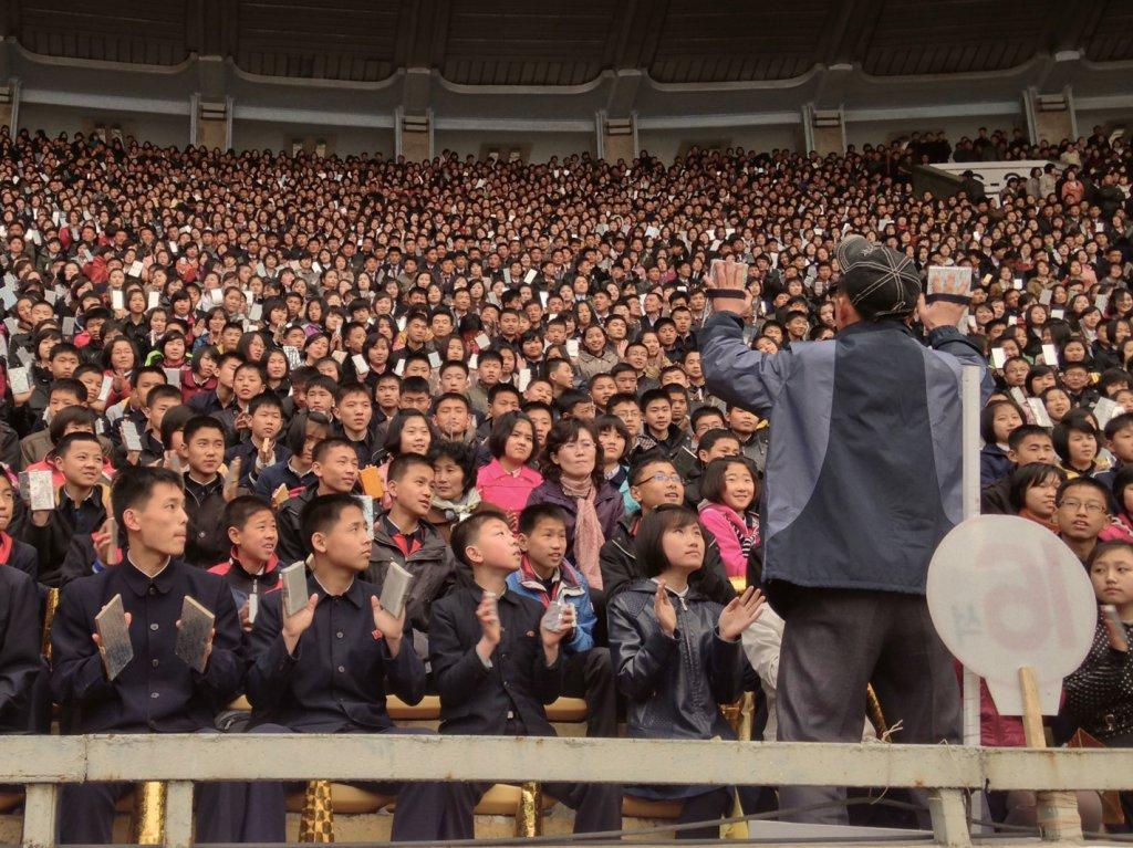 Chauffeur de salle, un métier d'avenir en Corée du Nord.