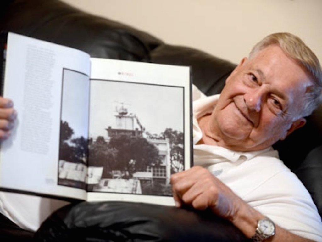 Bob Caron, pilote de l'hélicoptère, a aujourd'hui 81 ans.