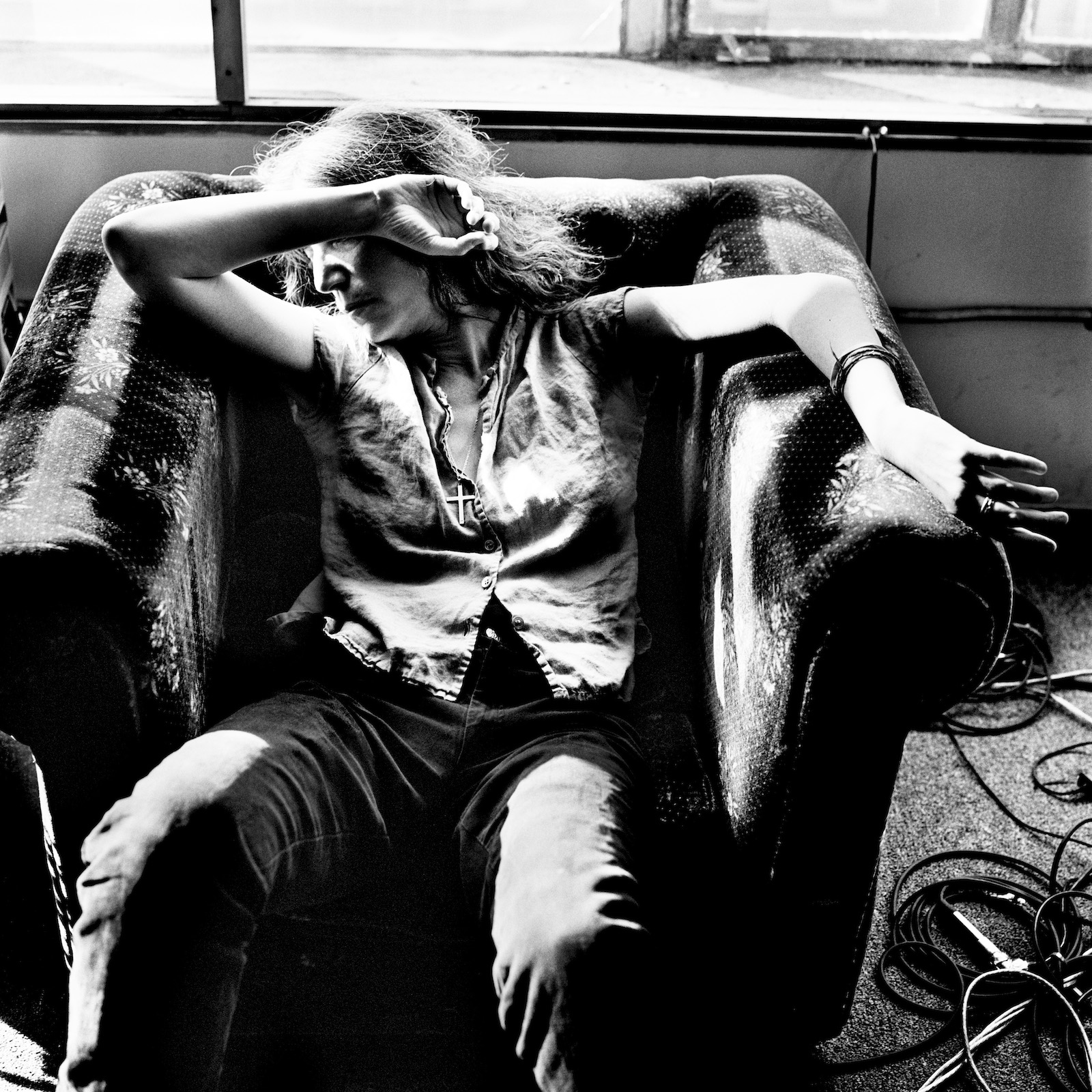 Patti Smith, New York 1999 © Anton Corbijn