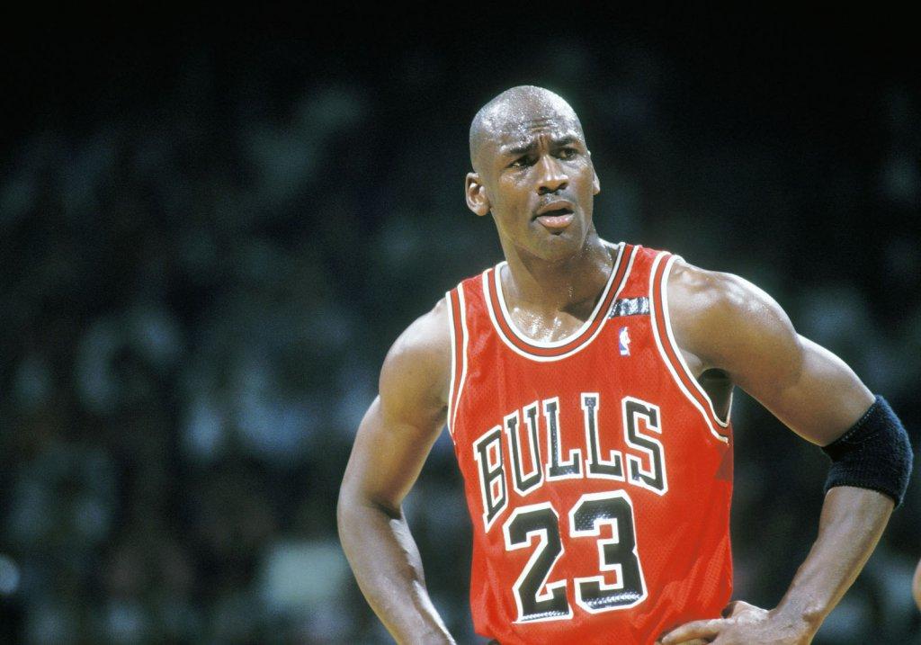 Michael Jordan en 1992.