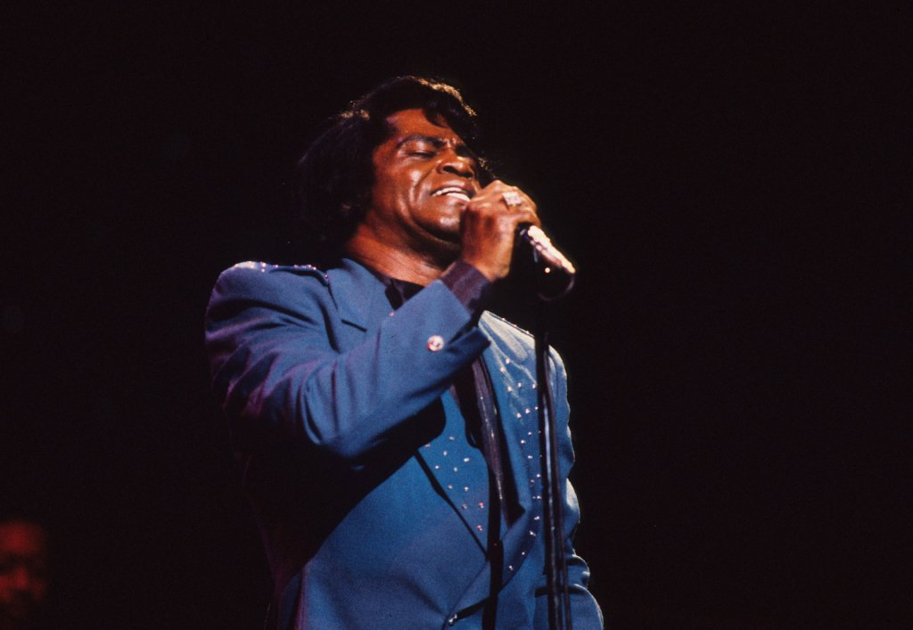 James Brown au Spectrum de Montréal, le 4 juillet 1986 (photo: Denis Alix).