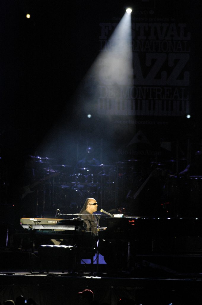 Stevie Wonder - General Motors, le 3 juin 2009 (photo: Denis Alix).