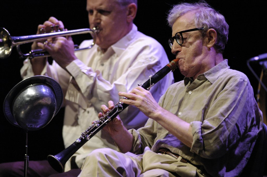Woody Allen - Salle Wilfrid-Pelletier - PdA (photo: Denis Alix), le 29 juin 2008.