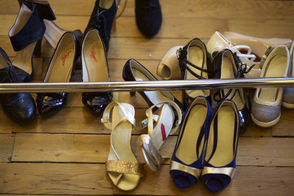 Des chaussures à talons, taille 31.