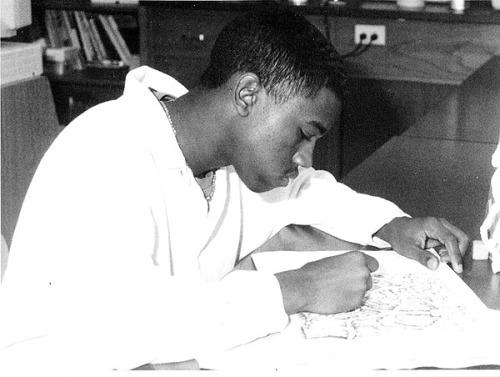 Quand Kanye West était premier de la classe.