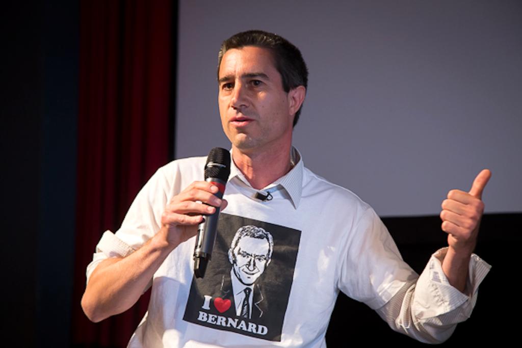 François Ruffin, lors du festival Visions Sociales.