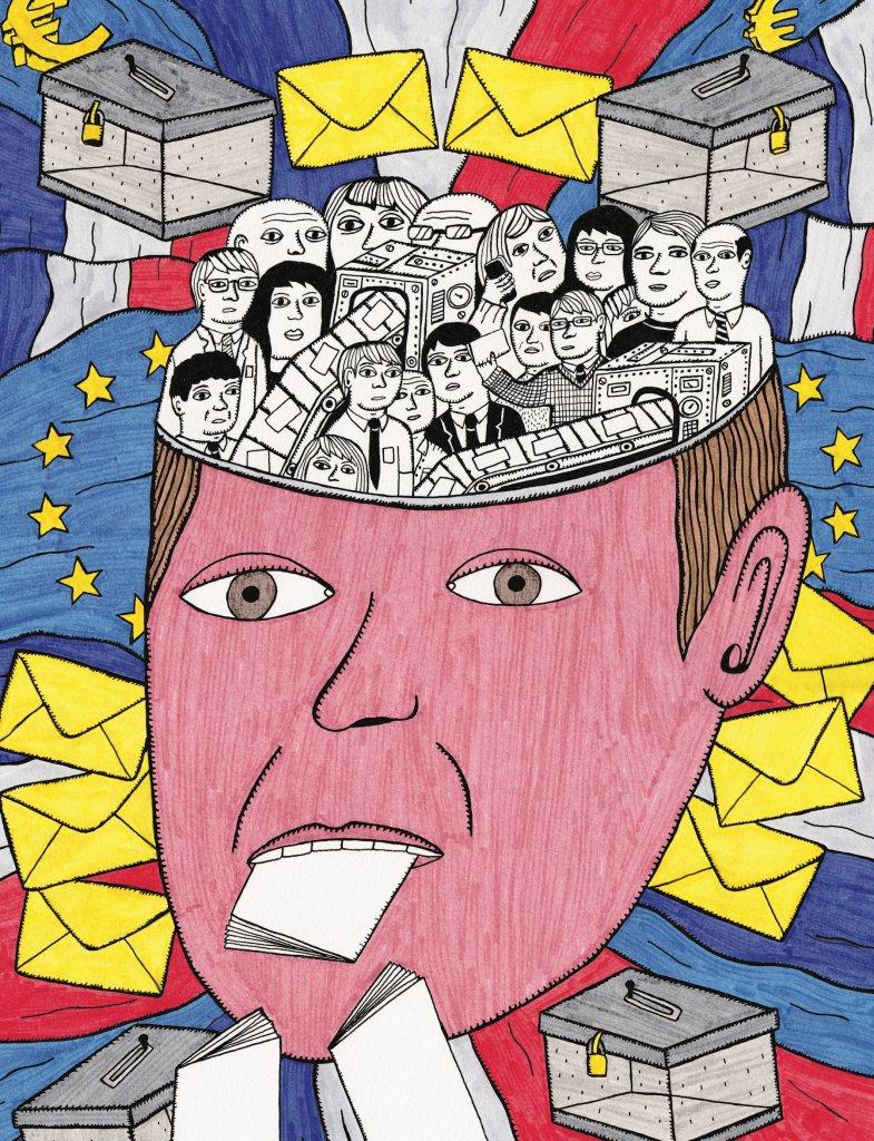 Illustration : Hector de la Vallée pour Society