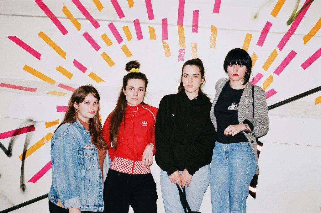De gauche à droite : DJ Ouai, Carin Kelly, Oklou et Miley Serious