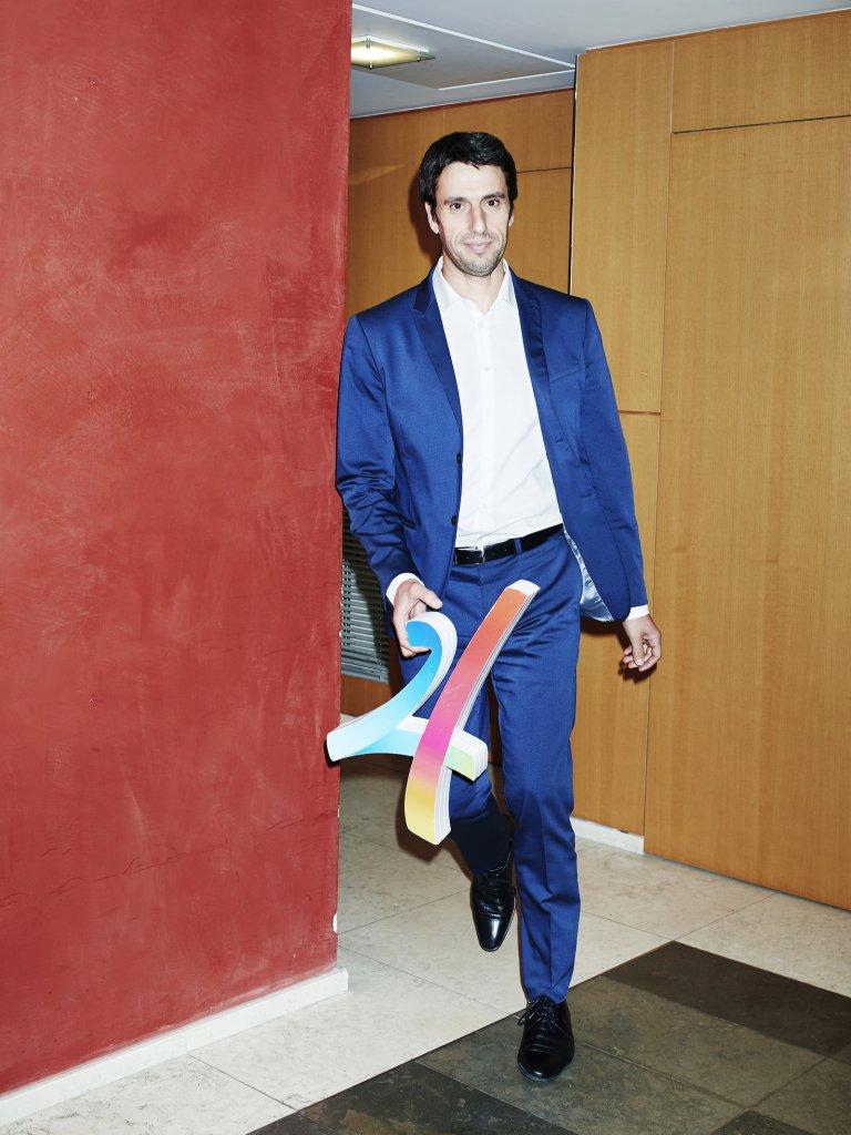 Pour la candidature de Paris aux JO 2024, Tony Estanguet a enfilé son bleu de chauffe.