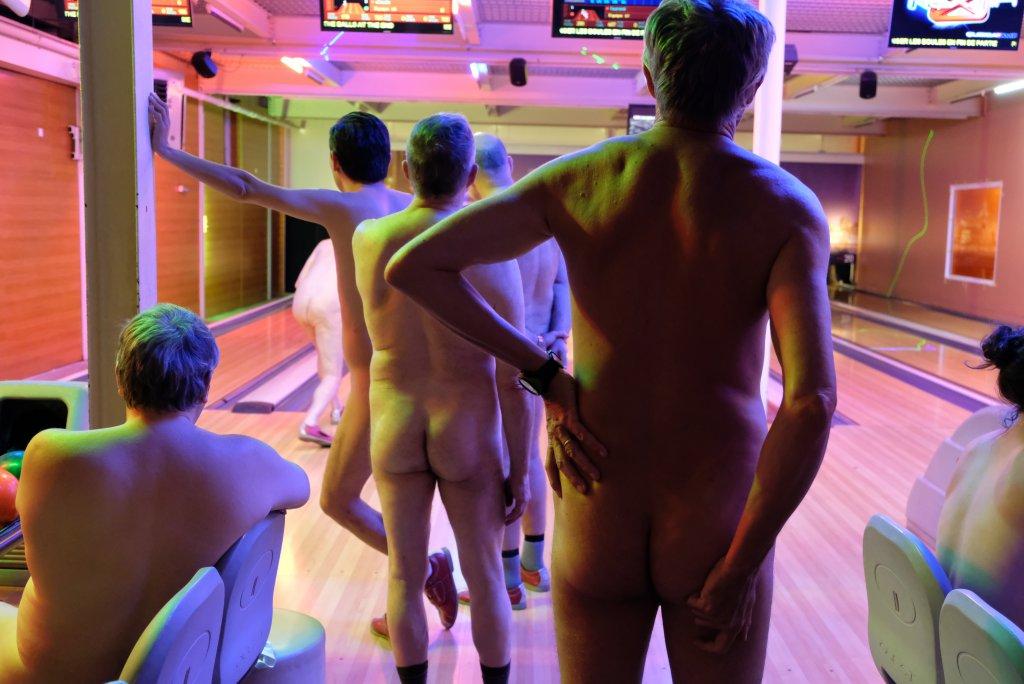 Beaux boules de bowling.