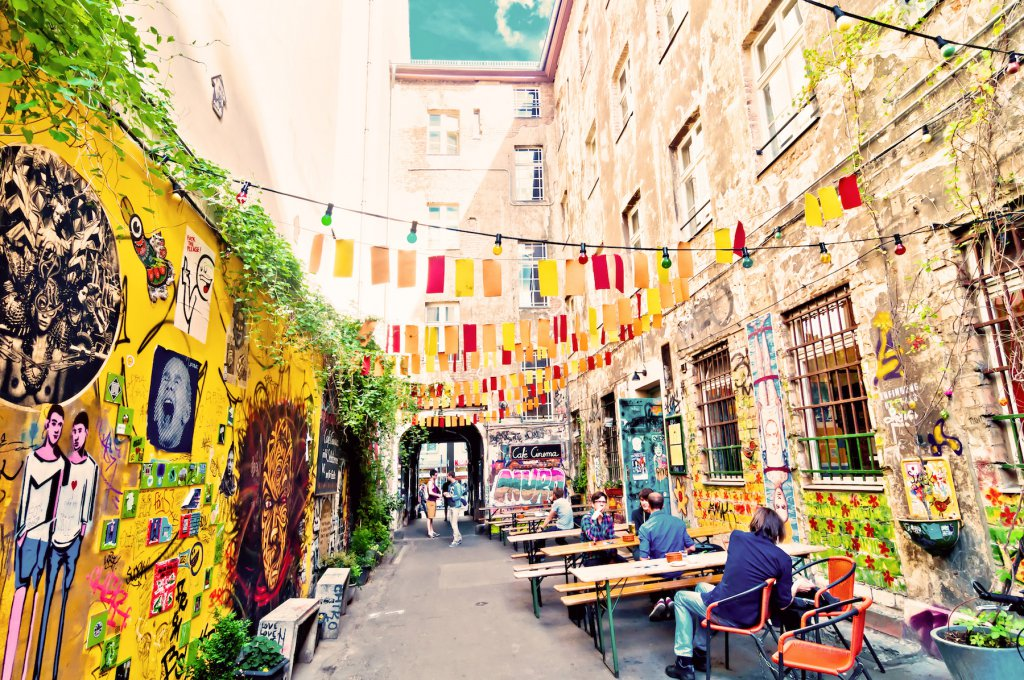 Le quartier de Kreuzberg, à Berlin.