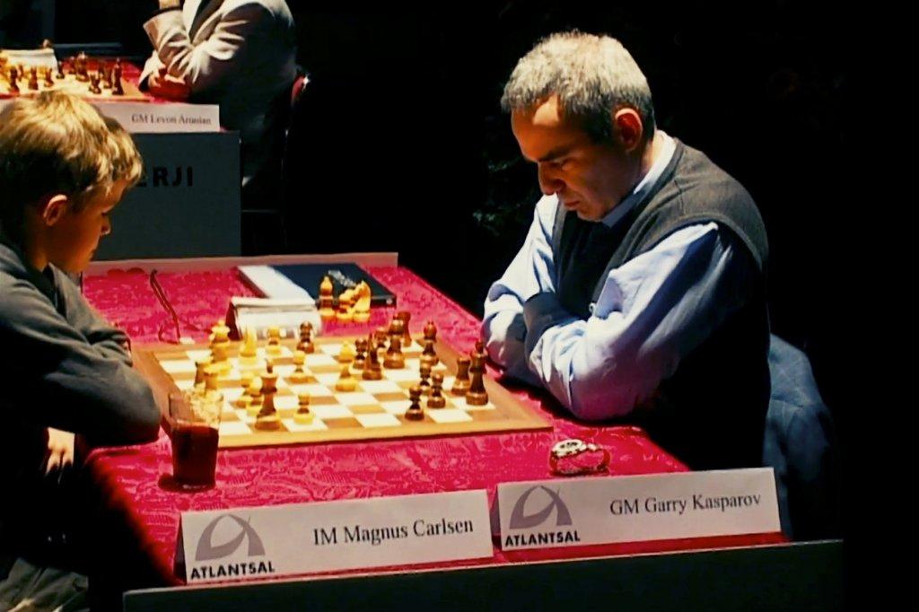 La fameuse partie contre Kasparov.