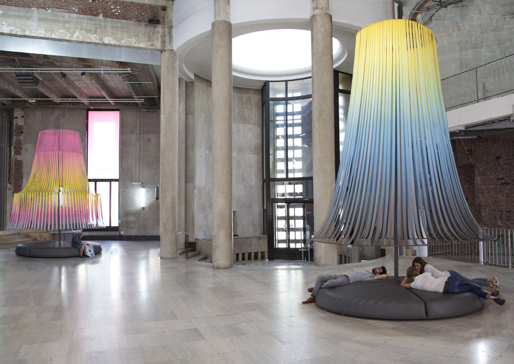 Trois conversations, Installation, Palais de Tokyo, 2014, image © Constance Guisset Studio
